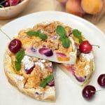 Clafoutis alle ciliegie e albicocche Solarelli